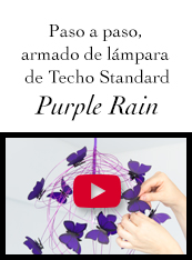 instructivo lampara de mariposas PurpleRain