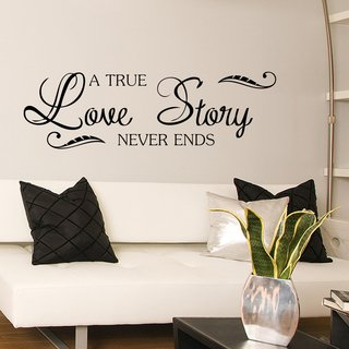 Looma Vinilos Decorativos A true love story