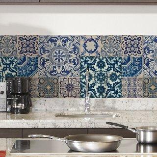 Vinilos decorativos para cocina filtrado por a z Azulejos decorativos cocina