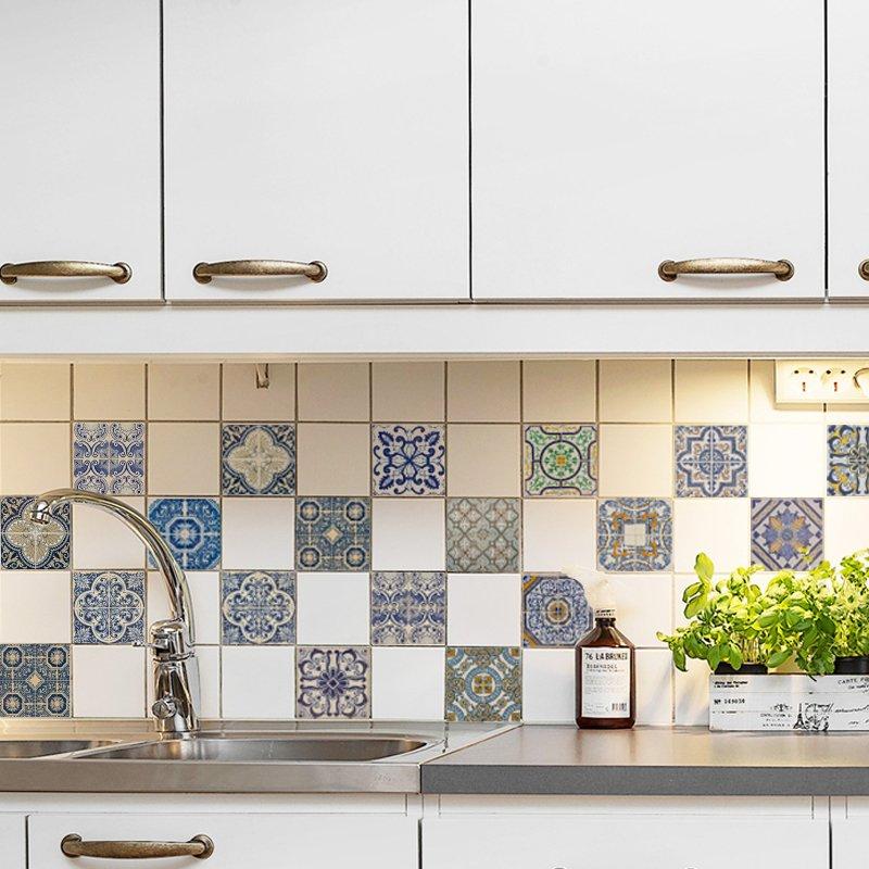 Azulejos lisboa comprar en looma vinilos decorativos - Pegatinas para azulejos ...