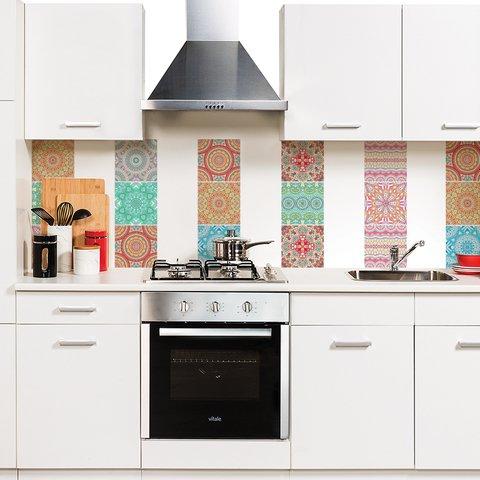 Azulejos mandalas looma vinilos decorativos - Azulejos decorativos cocina ...