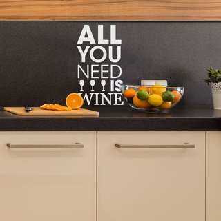 Looma Vinilos Decorativos Cocina All you need is wine