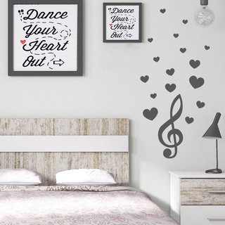 Looma Vinilos Decorativos Frases Music Love