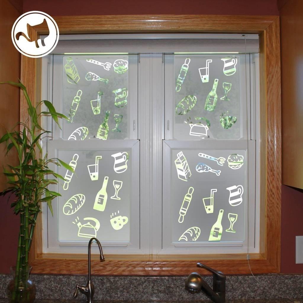 Vinilo puertas cocina vinilos para puertas cocina decoracin de cristales con vinilo imitacin - Vinilo puerta cocina ...
