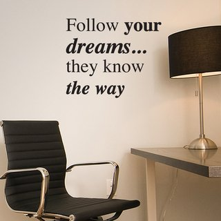 Looma Vinilos Decorativos Follow your dreams