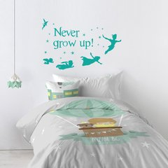 Looma Vinilos Decorativos Frases Never Grow Up