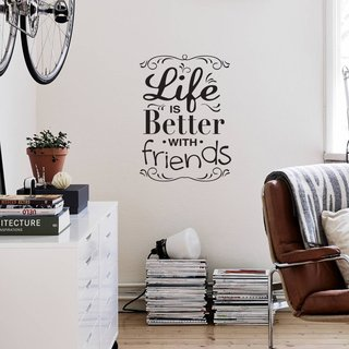 Looma Vinilos Decorativos Better with friends