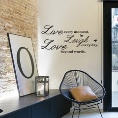 Looma vinilos decorativos decorativos live laugh love