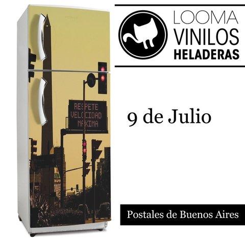 Comprar Vinilos Online.Buenos Aires 9 De Julio Vinilos Para Heladeras