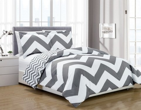 Duvet cover reversible Geo - king