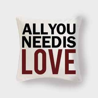 Cojín All you need is love - Pilou