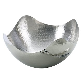 Bowl martillado acero inoxidable