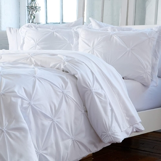 Duvet cover pinzado blanco Queen