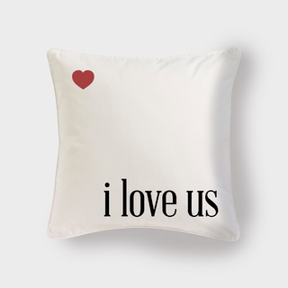Cojín I love us - escoge el color - Pilou - online store