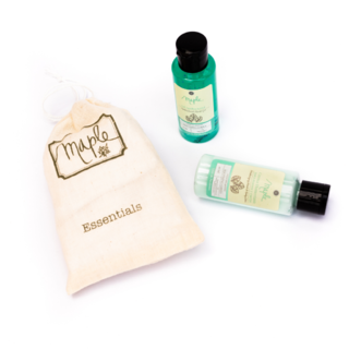 Kit: 2 Crema humectante 40ml + 2 Gel antibacterial 40ml - Maple