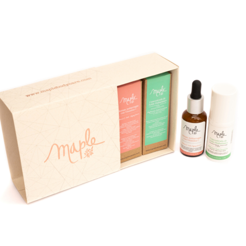 Kit: Serum de Vitamina C + Contorno de ojos - Maple