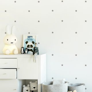 Vinilo decorativo Little Stars Set de 36 o 75 estrellas