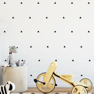 Vinilo decorativo Little Triangles  Set de 48 o 90 elementos
