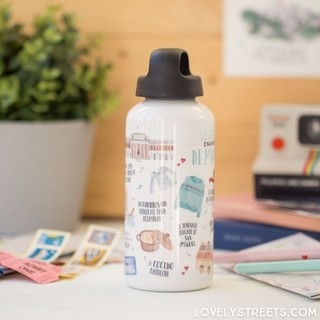 Botella de aluminio Lovely Streets - Madrid - Mr. Wonderful - comprar online