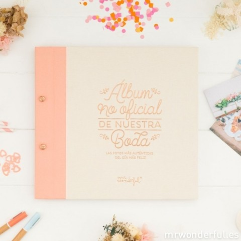 Álbum no oficial de nuestra boda - Mr. Wonderful en internet