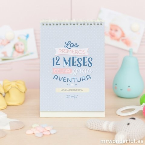 Cuentameses - Los 12 primeros meses de una gran aventura - Mr. Wonderful
