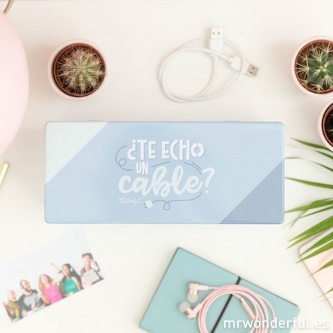 Caja metálica - ¿Te echo un cable? - Mr. Wonderful - comprar online