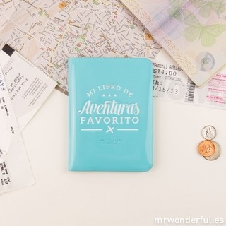 Funda para pasaporte - Mi libro de aventuras favorito - Mr. Wonderful - comprar online