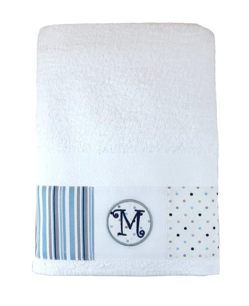 Juego de toallón y toalla Iniciales, código TT0109