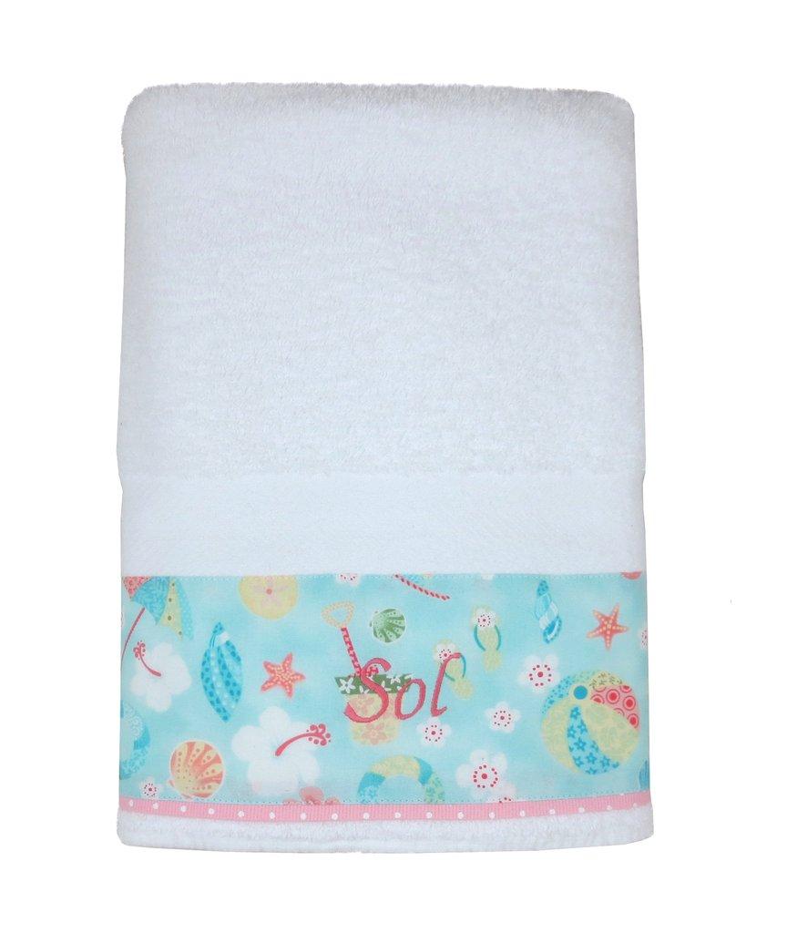 Juego de toallón y toalla Playa, código TT0107