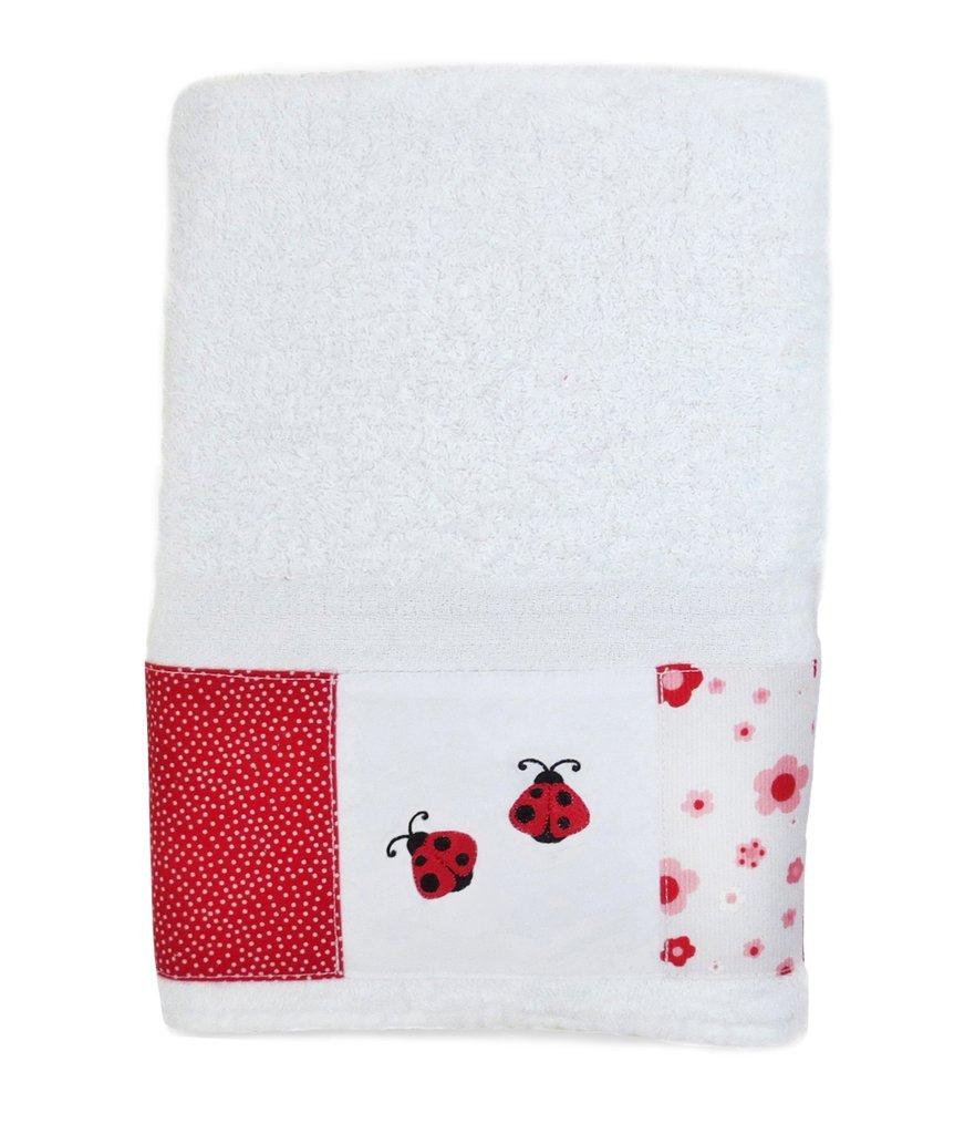 Juego de toallón y toalla Vaquitas, código TT0104