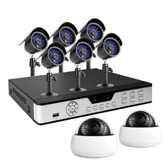 Zmodo Cctv 8 Ch Smart Security Dvr W / 8 Sony Ccd Día/Noche