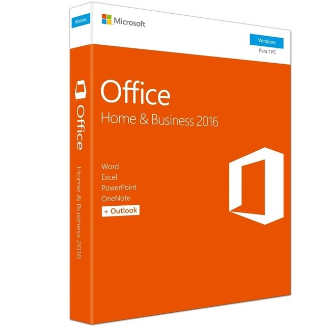 Microsoft Office Home Business 2016 32/64Bits - T5D-02932