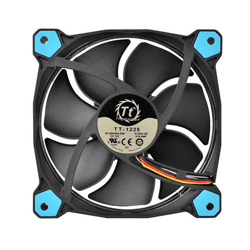 FAN TT RIING 12 RADIATOR FAN LED 1500RPM CL-F038-PL12GR-A na internet