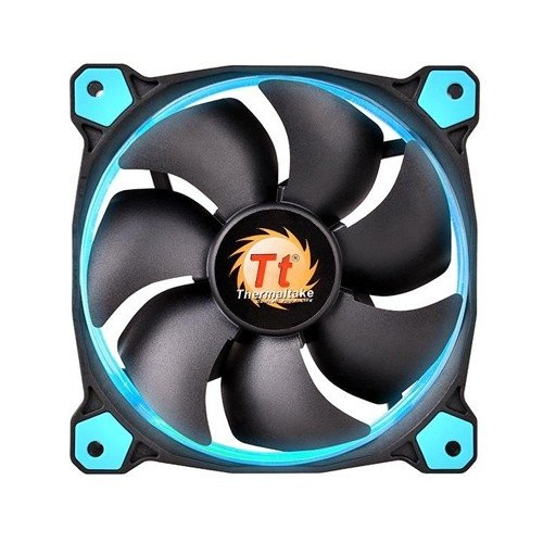 FAN TT RIING 12 RADIATOR FAN LED 1500RPM CL-F038-PL12GR-A