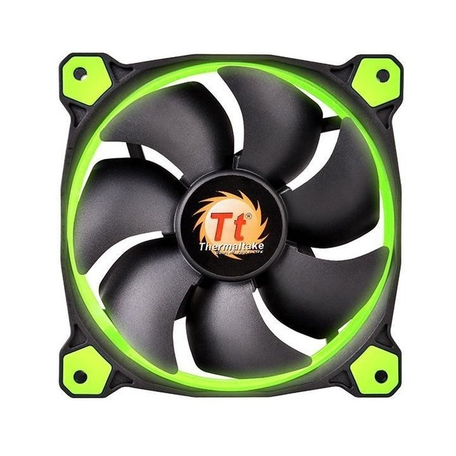 FAN TT RIING 12 RADIATOR FAN LED 1500RPM CL-F038-PL12GR-A - comprar online