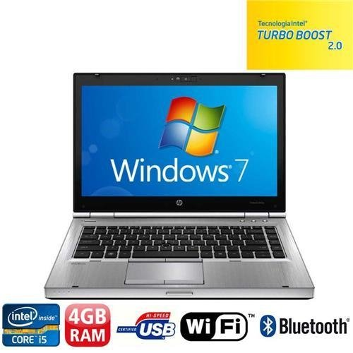 Notebook HP EliteBook 8460p com Intel® Core™ i5-2520M, 4GB, 500GB,  LED 14