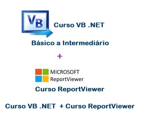 Curso VB .NET + Curso de ReportViewer (Vídeo Aulas)