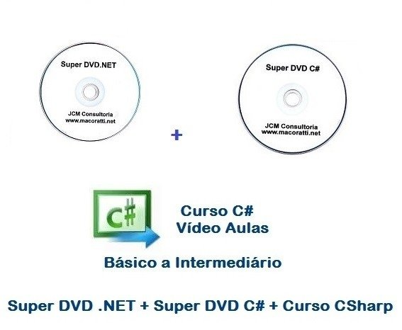 Super DVD .NET + Super DVD C# + Curso C#