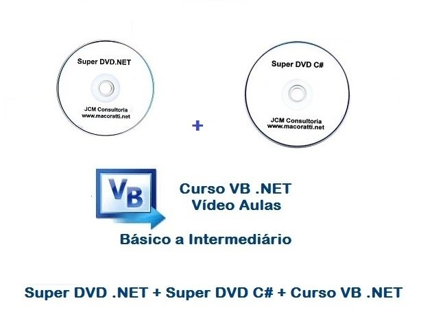 Super DVD .NET + Super DVD C# + Curso VB .NET