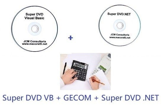 Super DVD Visual Basic + Super DVD .NET + GECOM
