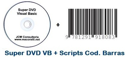Super DVD VB + Scripts para Cod. de Barras