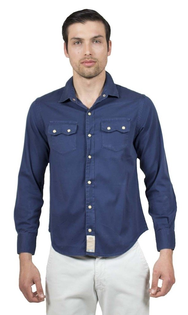 Camisa con Broches Mangas Largas - comprar online