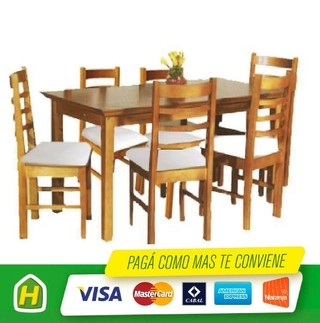 COMBO JUEGO LIVING CRAVERO COLOR MIEL