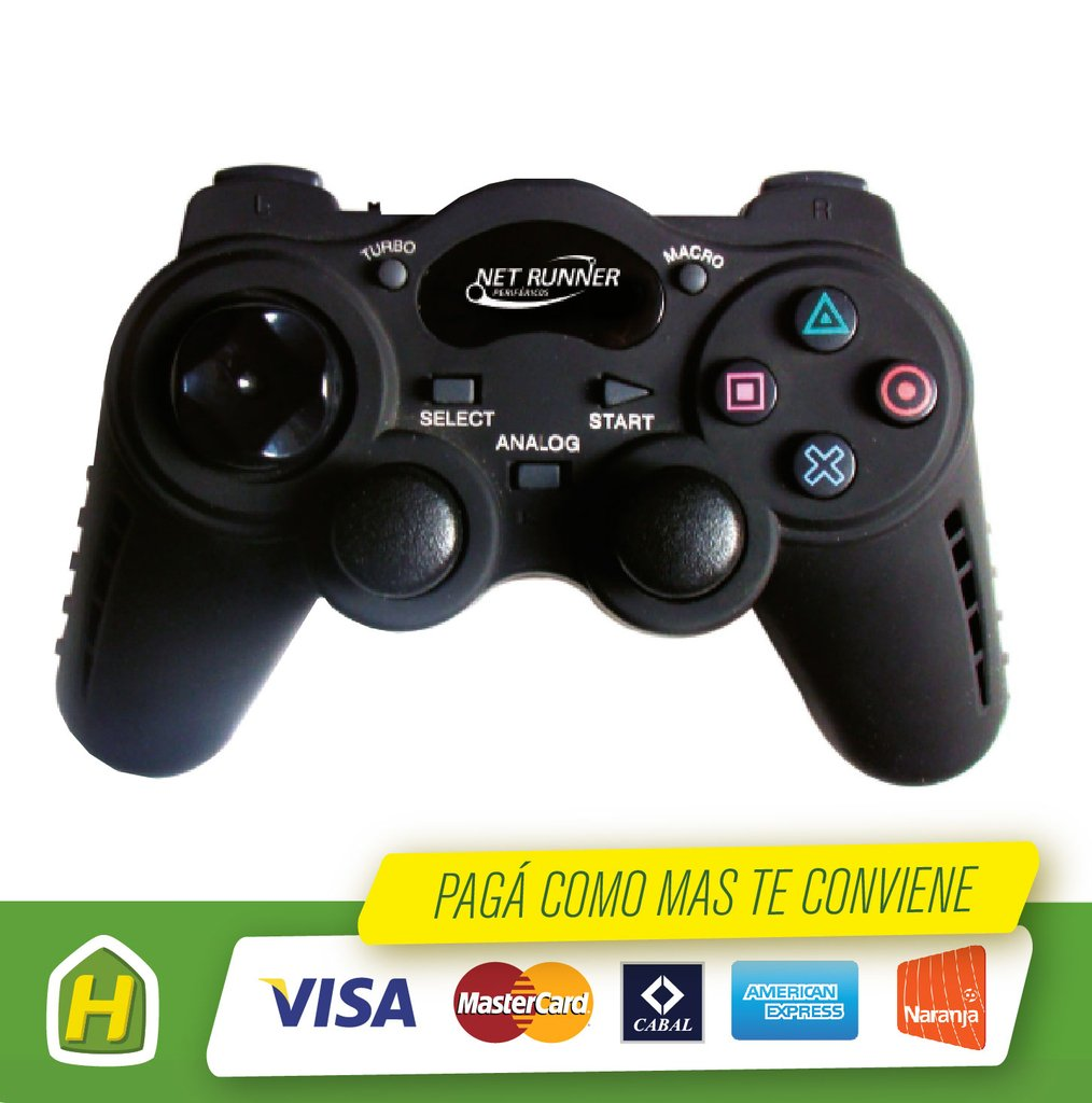 GAMEPAD NR-8001 COMPATIBLE PS3/PC NR-8001