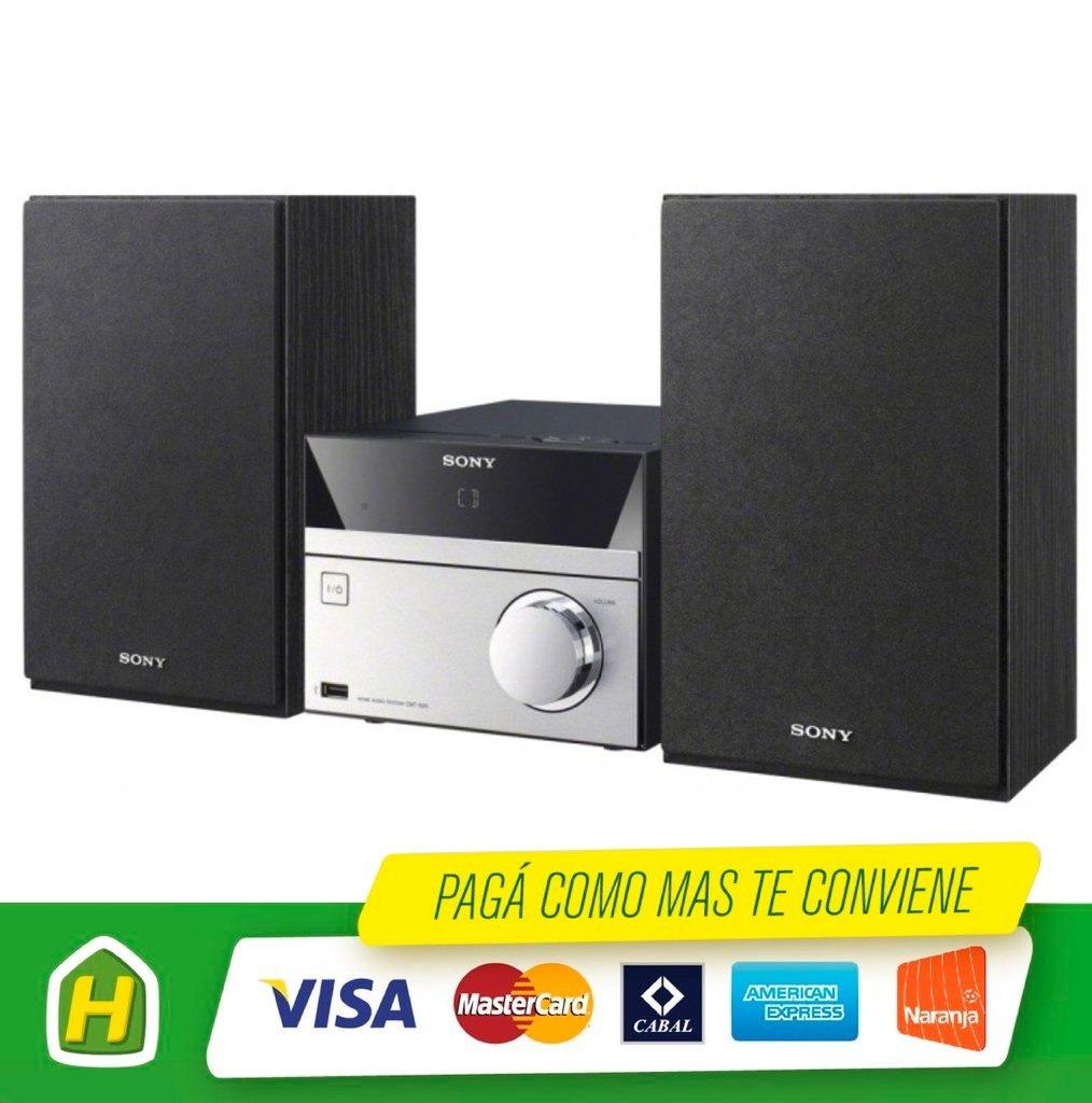 MICROCOMPONENTE SONY CMT-S20 CMT-S20