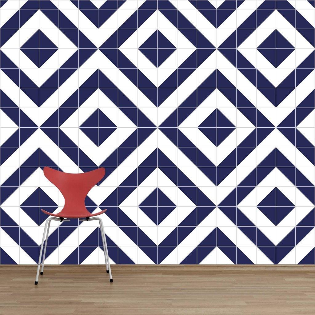 Lurca azulejos raiz azul royal lurca for Azulejos on line