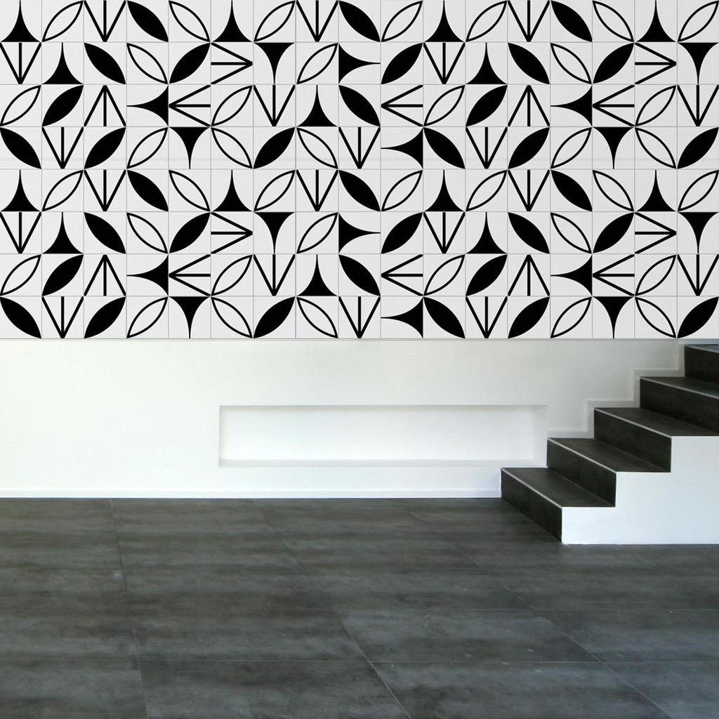 Lurca azulejos modelo kit preto lurca for Adhesivo de montaje para azulejos