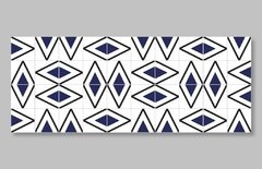 "1 M² ""Rabat"" Royal Blue Ceramic Tiles - Lurca"