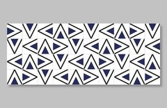 "1 M² ""Rabat"" Royal Blue Ceramic Tiles - online store"