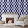 "1 M² ""Tebas"" Royal Blue Ceramic Tiles"